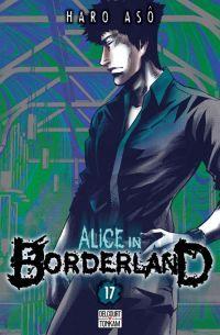 Alice in borderland T17, manga chez Delcourt Tonkam de Haro
