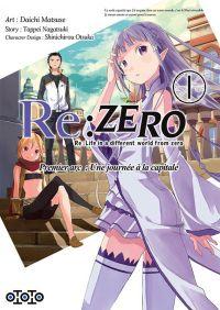 Re:Zero T1, manga chez Ototo de Matsuse, Nagatsuki