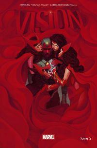 La Vision T2 : À peine mieux qu'une bête (0), comics chez Panini Comics de King, Walsh, Hernandez Walta, Bellaire, Del Mundo