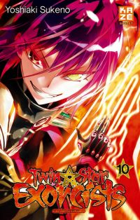Twin star exorcists T10, manga chez Kazé manga de Sukeno