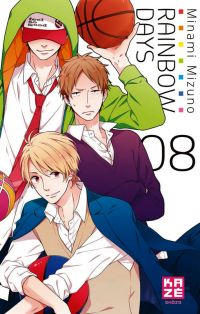 Rainbow days  T8, manga chez Kazé manga de Mizuno