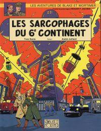 Blake & Mortimer T16 : Les sarcophages du 6ème continent (0), bd chez Dargaud de Sente, Juillard, Demille