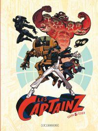 Les Captainz, bd chez Le Lombard de Texier, Yoann, Croix, Huet