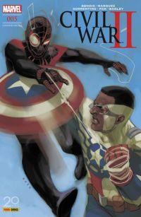 Civil War II T5, comics chez Panini Comics de Bendis, Shalvey, Pak, Marquez, Bagley, Sorrentino, Bellaire, Maiolo, Ponsor, Herring, Schwager, Noto