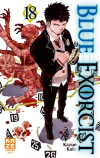 Blue exorcist T18, manga chez Kazé manga de Kato