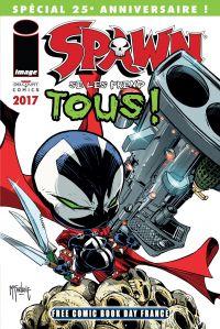 Spawn : Spawn se les prend tous ! (0), comics chez Delcourt de McFarlane, Kirby, FCO Plascencia
