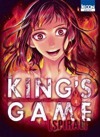 King's game spiral  T4, manga chez Ki-oon de Kanazawa, Kuriyama