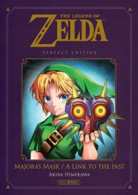 The legend of Zelda – Majora's mask / A link to the past, manga chez Soleil de Himekawa