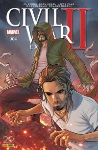 Civil War II Extra  T4, comics chez Panini Comics de Ewing, Ellis, Boschi, Kesel, Palo, Filardi, Brown, Caselli