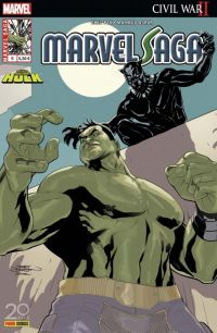 Marvel Saga T6 : Hulk : Civil War II (0), comics chez Panini Comics de Pak, Van Lente, O'Clark, Del Mundo, Asrar, D'Alfonso, Loughridge, Woodard, Dodson