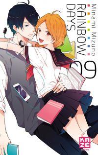 Rainbow days  T9, manga chez Kazé manga de Mizuno