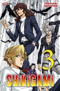 Shikigami T3, manga chez Panini Comics de Iwashiro