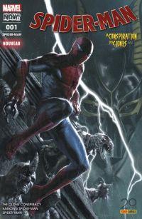 Spider-Man (revue) T1 : La conspiration des clones (1/5) (0), comics chez Panini Comics de Bendis, Slott, Gage, Camuncoli, Cheung, Leon, Frenz, Ponsor, Rosenberg, Gracia, Delgado, Keith, Ross