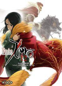 Fate Zero T12, manga chez Ototo de Type-moon, Urobochi