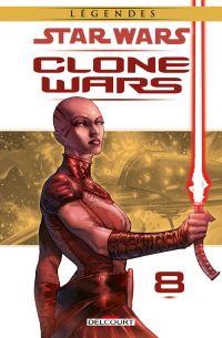 Star Wars - Clone Wars T8 : Obsession (0), comics chez Delcourt de Blackman, Lane, Scott, Ching, Atiyeh, Sno Cone Studios