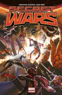 Secret Wars, comics chez Panini Comics de Hickman, Ribic, Svorcina, Ross