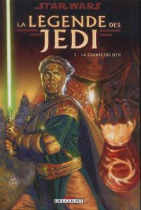 Star Wars - La légende des Jedi T5 : La guerre des Sith (0), comics chez Delcourt de Anderson, Carrasco, Rambo, Fleming