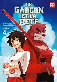 Le garçon et la bête T4, manga chez Kazé manga de Hosoda, Asai