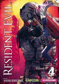 Resident evil - heavenly island T4, manga chez Kurokawa de Capcom , Serizawa