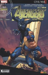All-New Avengers - Hors Série T3 : Civil War II (0), comics chez Panini Comics de Ewing, Rocafort, Ward, Morissette, Brown