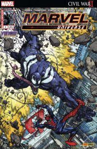 Marvel Universe T8 : Venom Space Knight - Amis et ennemis (0), comics chez Panini Comics de Thompson, Olivetti, Anindito, Jacinto, Sandoval, Silva, Tartaglia, Crossley, Almara, Howard