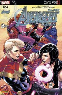All-New Avengers - Hors Série T4 : Esprits éclairés face à l'obscurité (0), comics chez Panini Comics de Thompson, Siqueira, Caldwell, Bennett, Rosenberg, Herring