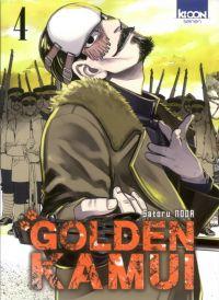 Golden Kamui T4, manga chez Ki-oon de Noda