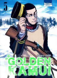 Golden Kamui T5, manga chez Ki-oon de Noda