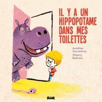 Il y a un hippopotame dans mes toilettes, bd chez Vide Cocagne de Ducoudray, Bedouet