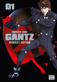 Gantz T1, manga chez Delcourt Tonkam de Oku