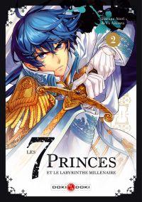 Les 7 princes et le labyrinthe millénaire  T2, manga chez Bamboo de Aikawa, Atori