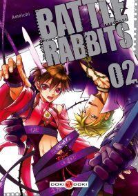 Battle rabbits T2, manga chez Bamboo de Amemiya, Ichihara