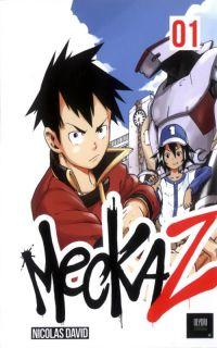 Meckaz T1, manga chez Olydri Editions de David