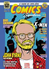 Comics Signatures T2, comics chez Neofelis éditions de Mornet, Lainé, Cordier, Depelley, Byrne, Hudson, Olivier, Cockrum, Malgrain