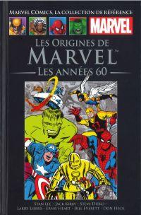 Marvel Comics, la collection de référence T73 : Les origines de Marvel - Les années 60 (0), comics chez Hachette de Lieber, Hart, Kirby, Lee, Everett, Heck, Ditko