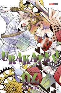 Urakata T4, manga chez Panini Comics de Hatori