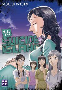 Suicide island T16, manga chez Kazé manga de Mori