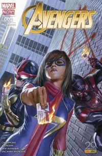 The Avengers (revue) – V 5, T2 : Changer le monde (0), comics chez Panini Comics de Duggan, Ewing, Waid, Ramos, Del Mundo, Barberi, Larraz, Curiel, Aburtov, D'Alfonso, Delgado, Ross
