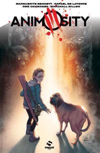 Animosity T1, comics chez Snorgleux de Bennett, De La Torre, Schwager