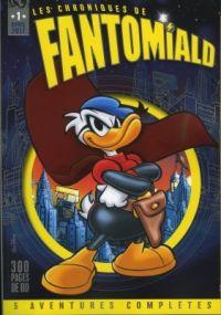 Les Chroniques de Fantomiald T1, comics chez Hachette Disney de Penna, Martina, Battista Carpi, Cavazzano, Scarpa, de Vita