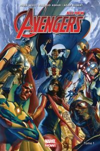 All-New Avengers T1 : La nouvelle génération (0), comics chez Panini Comics de Waid, Kubert, Asrar, McCaig, Oback, Martin jr, Ross