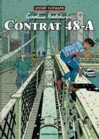 Caroline Baldwin T2 : Contrat 48-A (0), bd chez Casterman de Taymans