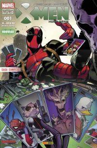 X-Men Hors Série (revue) (V4) T1 : Deadpool : c'est trop tôt ? (0), comics chez Panini Comics de Corin, Nauck, Brown, Troy, Charalampidis, Larraz