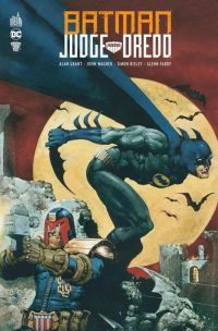 Batman - Judge Dredd, comics chez Urban Comics de Wagner, Grant, Semeiks, Brashill, Kennedy, Bisley, Murray, Power, Fabry, Critchlow, Digital Chameleon, Vasquez