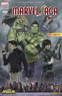 Marvel Saga (revue) (V4) T2 : Hulk : Pépins dans la Grosse Pomme (0), comics chez Panini Comics de Pak, Peralta, Ross, Asrar, Ramos, Almara, Woodard