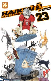Haikyû, les as du volley T23, manga chez Kazé manga de Furudate