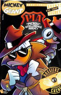 Picsou Intelligence Agency - Agents pas trop secrets T1, comics chez Hachette Disney de Figus, Panaro, Valussi, Marini, Faccini