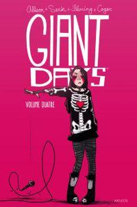 Giant Days T4, comics chez Akileos de Allison, Treiman, Sarin