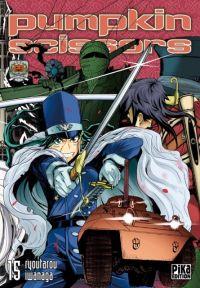 Pumpkin scissors T15, manga chez Pika de Iwanaga