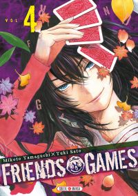 Friends games  T4, manga chez Soleil de Yamaguti, Yûki